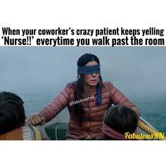 Nurse humor nursing funny memes FabulousRN - Nursing Meme - The post Nurse humor nursing funny memes FabulousRN appeared first on Gag Dad. Psych Nurse, Cna Nurse, Nurse Jokes, Nurse Life, Nurses, Nursing School Humor, School Memes, Nursing Schools, Rn Humor