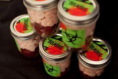 Great ideas for Halloween or a Zombie birthday theme party.  Zombie Party Inspiration on frogprincepaperie...