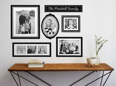 This family wall decal from Shutterfly makes decorating your home with photos super easy and fun Family Wall, Decorating Your Home, Decorating Ideas, Decor Ideas, Inspiration Wall, Country Decor, Wall Design, Wall Decals, Home Goods