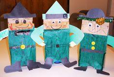 St. Patrick's Puppets!