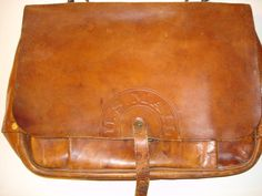 FS: rare original 1944 U.S. Navy issued leather postal/mail messenger bag