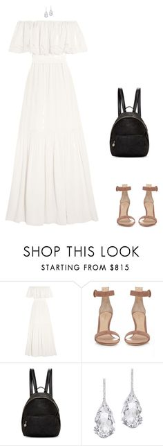 """""""Sweet Lovin'"""" by dollyrockerx3 ❤ liked on Polyvore featuring Temperley London, Gianvito Rossi, STELLA McCARTNEY and Plukka"""