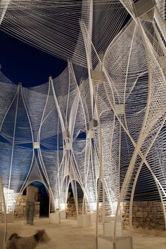Windshape at  Savannah College of Art and Design (SCAD) in Lacoste, France by nArchitects