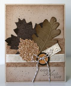 Stampin' Up! Trust God  by Krystal De Leeuw at Krystal's Cards and More