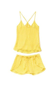 Chilli Silk Cami & Shorts Set | Yolke