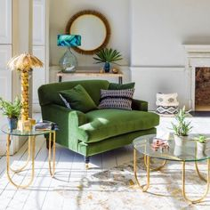 Clio Loveseat | Armchairs | Graham and Green