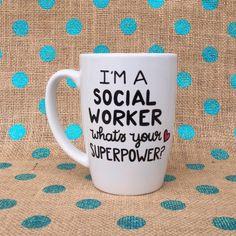 Social Worker Coffee Mug  I'm A Social Worker by Hinzpirations