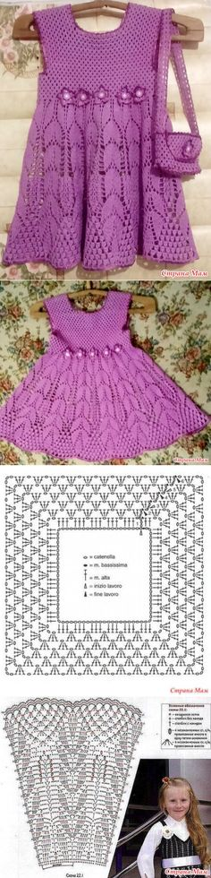 . Платье для Николь - Все в ажуре... (вязание крючком) - Страна Мам