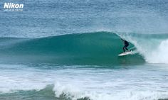 LINE-UP OF THE DAY: Too Much Winter Fun, Surf Coast Victoria Last Week. Photo by Judy Scanlon