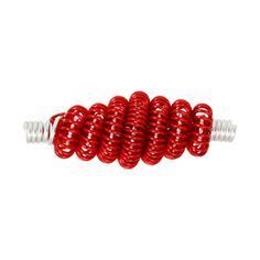 coiled wire bead  Using a Coiling Gizmo - Style 2  printable version available