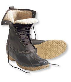 "#LLBean: Women's Bean Boots® by L.L.Bean, 10"" Shearling-Lined"