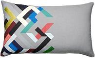 Almofadas modernas com diversos padrões