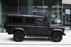 Land Rover Defender Blog - Gone to the dark side. WEH