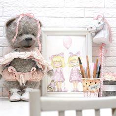 🎈В воскресенье вечером медвежонок будет искать семью🐻😋 🍩 #тедди #теддимишка #мишкатедди #новыйгод #teddy #teddybear #happynewyears #horse #horses #candy #interiores #art #artist #vsco #vscocam #vscorussia #illustration #illustrator #children #kidsroom #instakids #instamama #handmade #goodday