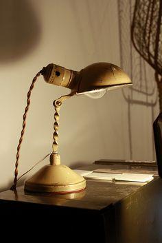 antique task lamp