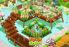 theme Decorate the way you want your restayrant every month there is new theme and new items for decoration. WHAT ARE YOU WAOTING FOR ?come play food street game for free😀😀 Food Street Game, Isometric Art, Play Food, New Theme, Restaurant Design, Free Games, Game Design, Food Game, House Styles
