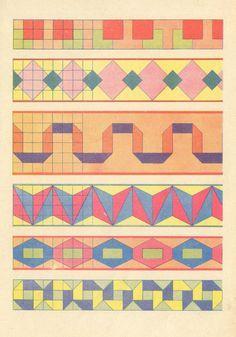 Bordes para colchas. http://www.quilterscache.com/B/Borders.html ... : border quilt patterns - Adamdwight.com