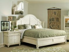 I must have this bed. Paula Deen furniture, hanks furniture, Steel ...