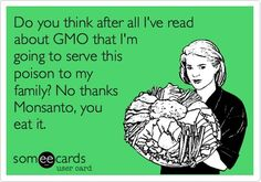 "Gmo - BOYCOTT & ONLY BUY ORGANIC IF YOU DON""T WANT POISON!!!"