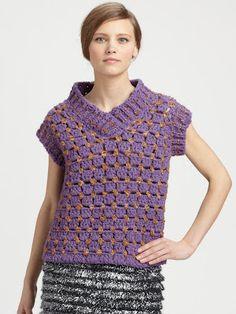 crochet knit unlimited: Fall-Winter 2012 Marc Jacobs crochet