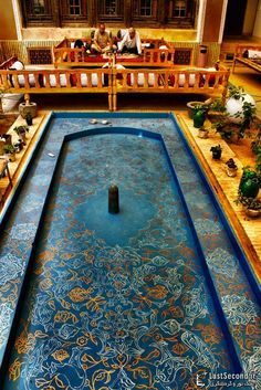 Persian Traditional Hotel in Yazd, Iran http://irantravelingcenter.com #yazd #iran