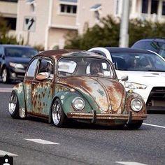 Classic VW patina princess