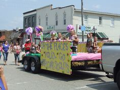 Oh the Places you'll go with Girl Scouts - Parade Float