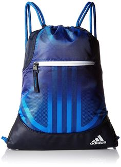 a3276abcf292 Details about adidas Alliance Sack Pack Drawstring Gym Bags Unisex Backpacks  Sports Sackpacks