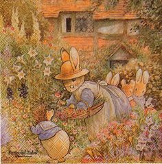 foxwood tales | Molca Foxwood Tales Im Garten - Sonjas Servietten Shop