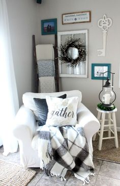 15 Cozy Modern Farmhouse Living Room Decor Ideas