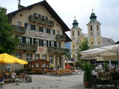 Spent a lovely week here in Summer 2011 - St Johann, Austria The Beautiful Country, Beautiful Places, Tirol Austria, Italy Summer, Bavaria Germany, Travel Memories, Heaven On Earth, Homeland, Switzerland