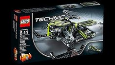 LEGO TECHNIC SNOWMOBILE 42021 - 2 IN 1 - RETIRED - NEW IN FACTORY SEALED BOX
