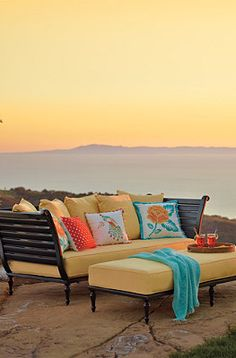 FrontGate offers the best in outdoor oasis furniture!