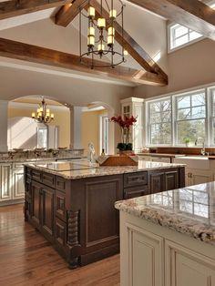 Nice kitchen design.