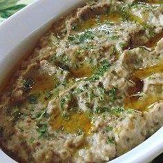 Baba Ghanoush (Auberginencreme) @ http://de.allrecipes.com
