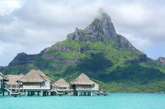 Intercontinental Bora Bora Resort and Thalasso Spa Overwater Bungalows | Flickr - Photo Sharing!