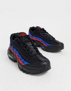 official photos 5e456 454f4 Nike Multi Animal Print Air Max 95 trainers