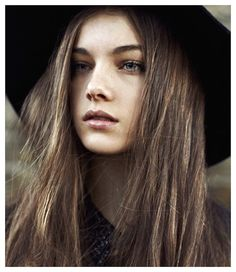 Brunette shades are all about subtlety, the small details that make the color shine. Model Charlotte Grace has perfected her signature shade, a soft cool brown flecked with bits of golden light. It...