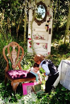 More photos from our Alice in Wonderland themed photoshoot - by Vintage Vexation and MV Furniture Redesign