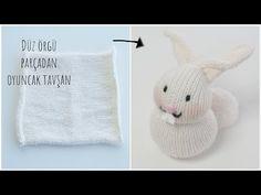believe your eyes best ever easiest knittng bunny Figen Ararat Crochet Hats, Teddy Bear, Knitting, Toys, Animals, Youtube, Baby Dolls, Amigurumi, Socks