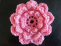 Ravelry: 3D Interchangeable Crochet Flower pattern by Yarntivity, Casey Pilley