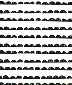 Self-adhesive Removable Wallpaper Half Moon Black by EazyWallpaper