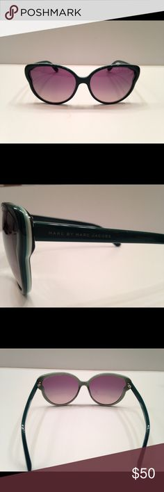 Marc by Marc Jacobs Brand new beautiful green colored sunglasses!  Bought for an event (didn't end up attending ) my loss your gain. Marc by Marc Jacobs Accessories Sunglasses