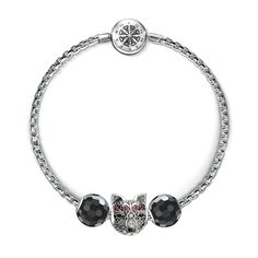 thomas sabo fox bead - Google Search Thomas Sabo, Sterling Silver Jewelry, Beads, Bracelets, Karma, Bing Images, Accessories, Fox, Google Search
