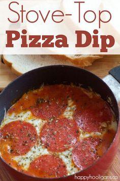 Stovetop Pizza Dip