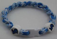 Detroit Lions Titanium Bracelet Sports Cheer by teambracelets, $7.50