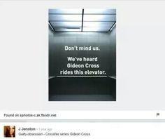. Gideon Cross, Mindfulness, Consciousness