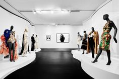 French couturier Jean Paul Gaultier has opened his exhibition at National Gallery of Victoria.