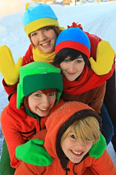 color, cosplay, snow, south park, winter