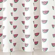 For barn bathroom- Watermelon Shower Curtain | Serena & Lily